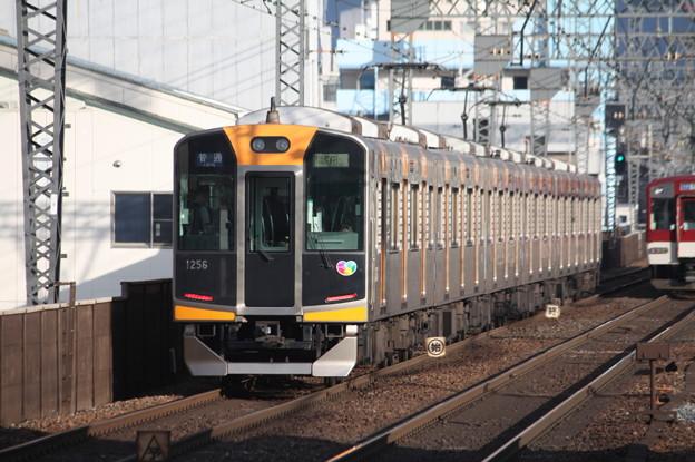 阪神1000系1256F 普通 東花園 行