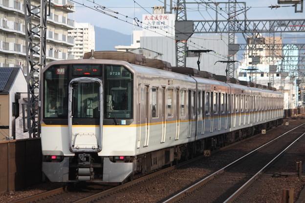 近鉄奈良線 9820系9728F 快速急行 近鉄奈良 行