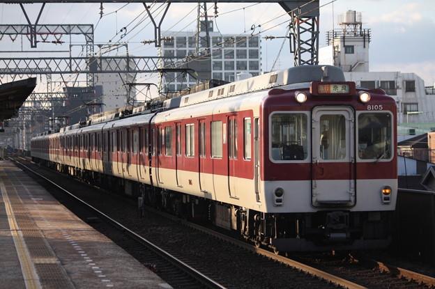 近鉄奈良線 8000系8105F