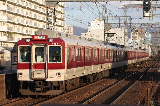近鉄奈良線 8000系8726F