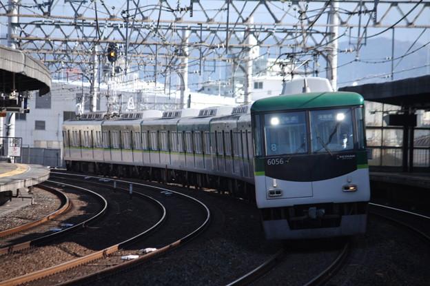 京阪本線 6000系6006F 準急 淀屋橋 行