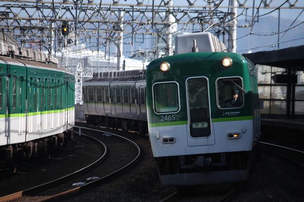 京阪本線 2000系2465F 回送