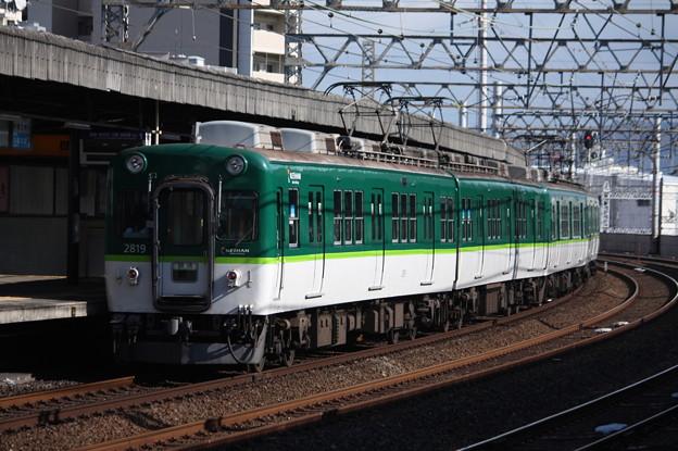 京阪本線 2600系2819F 回送