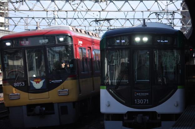 京阪本線 8000系8003F・13000系13071F