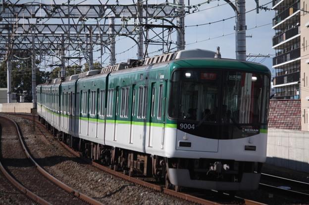 京阪本線 9000系9004F 急行 出町柳 行