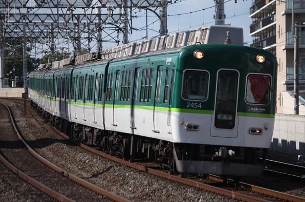 京阪本線 2000系2454F 回送