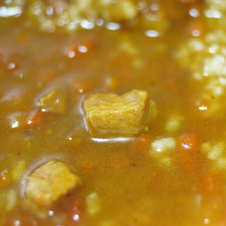 カレー職人 インド風カレーの肉