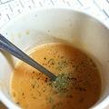 人参とじゃがいもと玉ねぎのスープ
