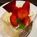 写真: かおりの&あまおうW苺ショートケーキ