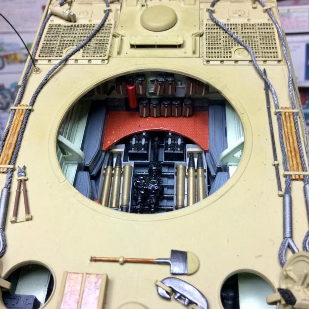 Tiger1 interior