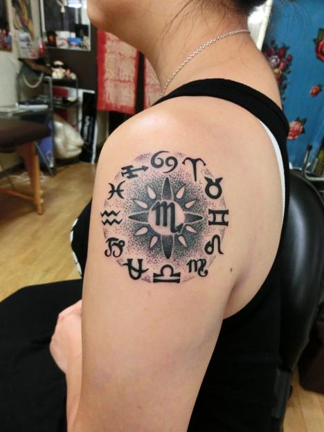 Dot tattoo