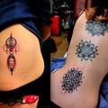 dotwork Dot tattoo