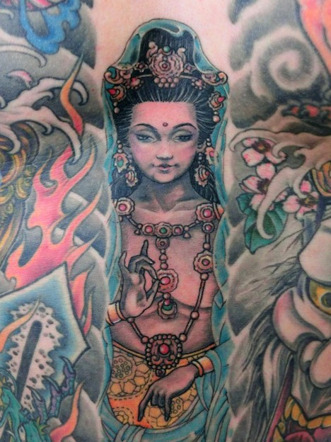Photos: 神 God tattoo