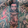 神 God tattoo