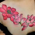 ハス Lotus tattoo