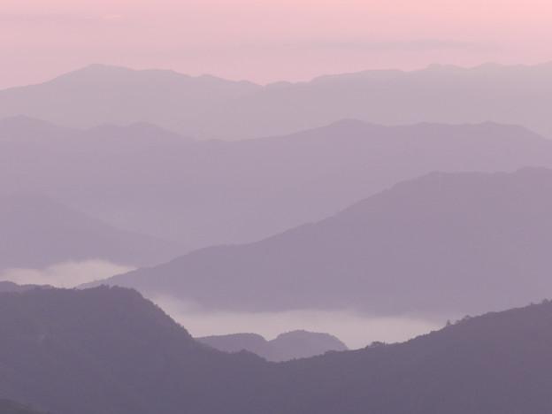 写真: 雲海