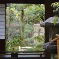 写真: 藤村庸軒旧蔵石灯篭