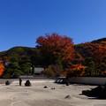 日本最大級の広さを誇る枯山水
