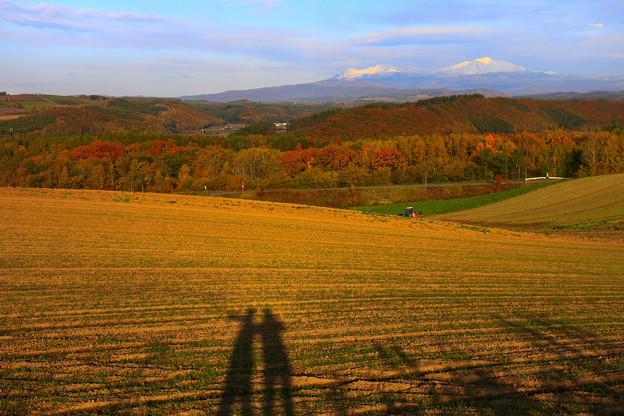 秋天的丘陵