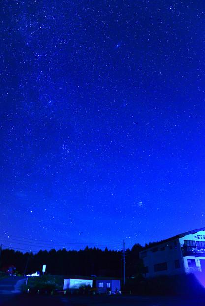 写真: 北東の空 戸隠スキー場