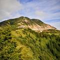写真: 横手山ヒュッテを望む