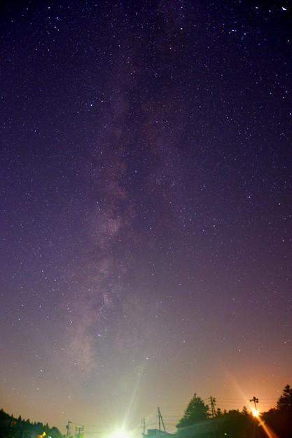 写真: 天の川がくっきりと♪