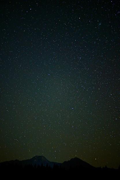 星降る妙高山