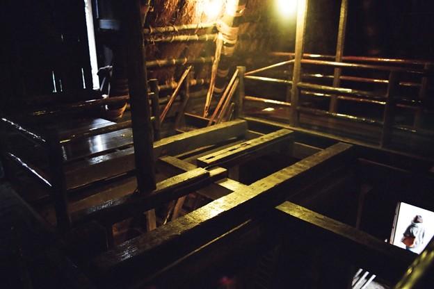 三渓園-旧矢箆原家住宅二階階段付近