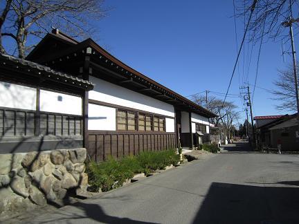 大悲願寺の長屋門