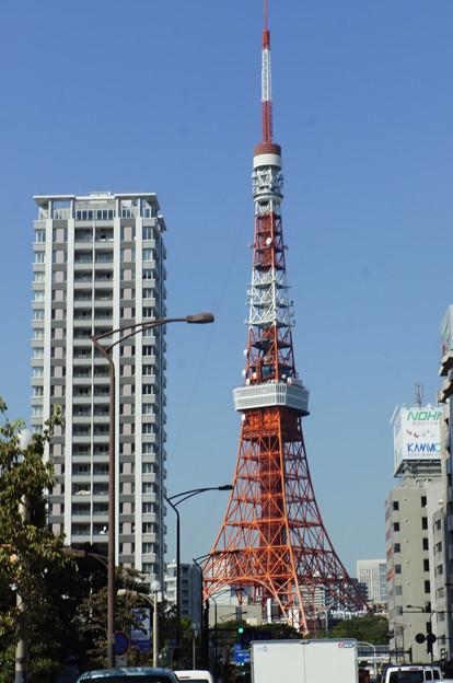 帰りの東京タワー