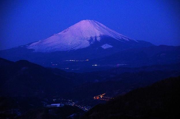 写真00004 そんな時間、高感度での富士山