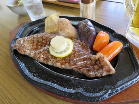 デンバー おすすめステーキセット レギュラー(150g)¥1500