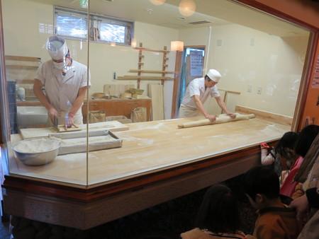 草笛 上田店 製麺室
