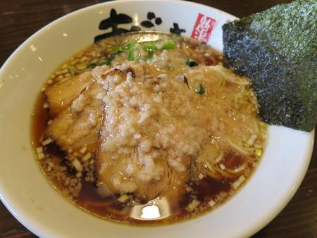 麺屋あごすけ 醤油背脂豚麺¥1060