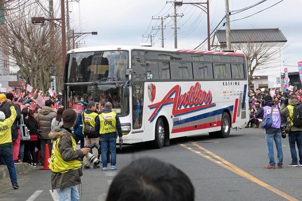 鹿島アントラーズバス