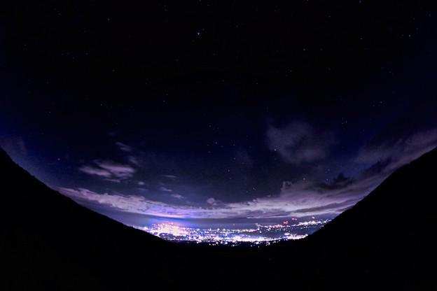 Photos: 小諸夜景と夜空_3