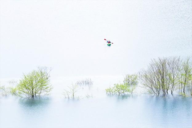 写真: 静寂の時間