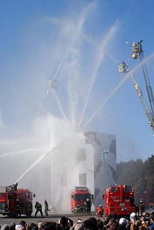 2011年1月8日千葉市消防局出初め式