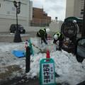 Photos: 街中の道路除染