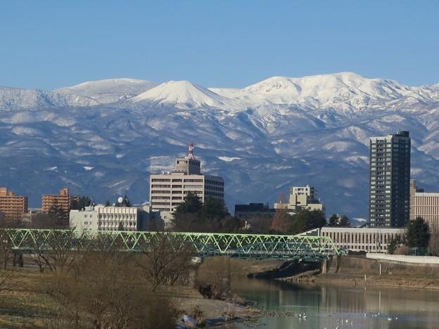 冬の朝 吾妻小富士