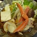 写真: 蟹鍋