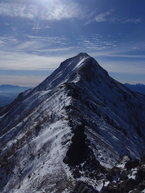 立派な赤岳