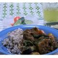 写真: 夏野菜カレー