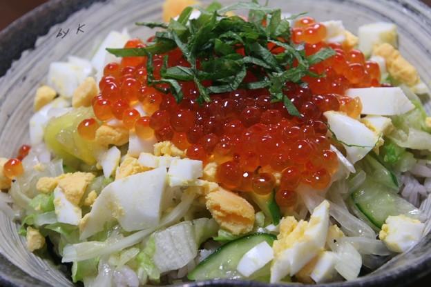 サラダご飯