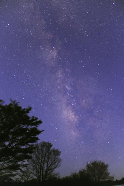Photos: 夜明けの天の川(IMG_8104)