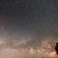 Photos: ヘルクレス座と昇る天の川