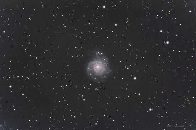 M74 うお座の渦巻銀河 20170925