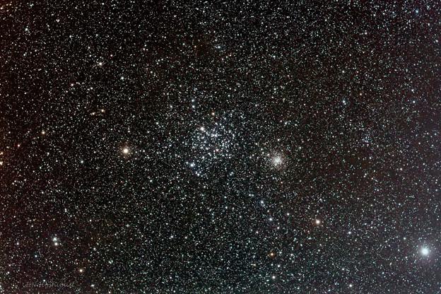 Photos: ふたご座の散開星団 M35とNGC2158