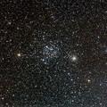 写真: ふたご座の散開星団 M35とNGC2158