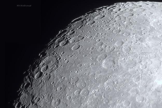 ジャンサンから月の南極方向